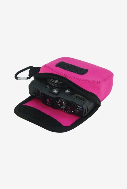 MegaGear Neoprene Camera Case for Canon G16, G15 (Pink)