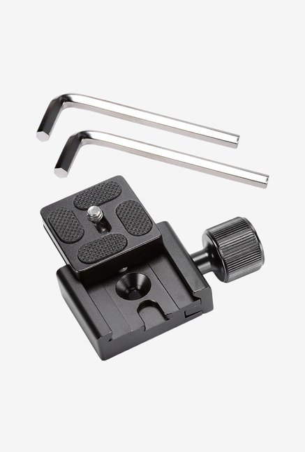 Neewer 40mm Metal Quick Release Clamp with Plate (Black)