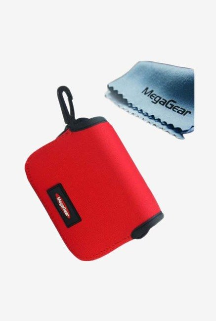 MegaGear Neoprene Camera Case for Sony RX100M (Red)