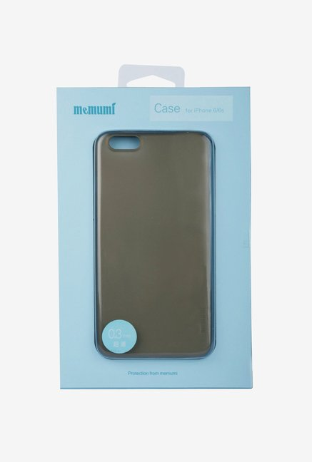 Memumi Ultra Thin Back Cover for iPhone 6 Plus (Black)