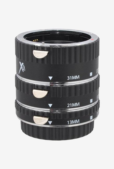 Xit Auto Focus Macro Extension Tube Set For Canon (Black)
