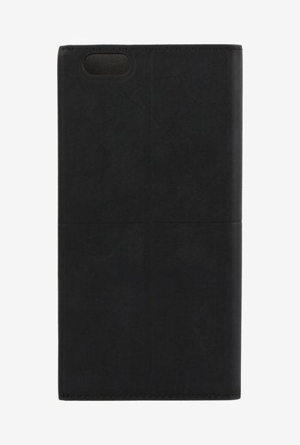 Memumi Simple Plus Flip Cover for iPhone 6s Plus (Black)
