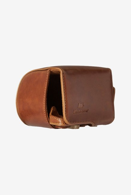 MegaGear Leather Camera Case for Sony Alpha a5000 (Brown)