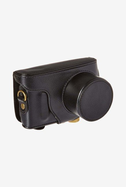 MegaGear Leather Camera Case for Samsung NX Mini (Black)