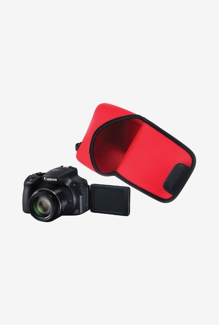 MegaGear Neoprene Camera Case for Canon SX60 HS (Red)