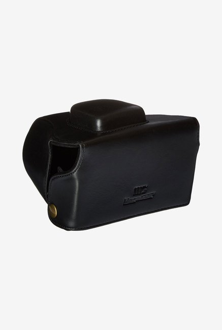 MegaGear Leather Case for Olympus Cameras (Black)