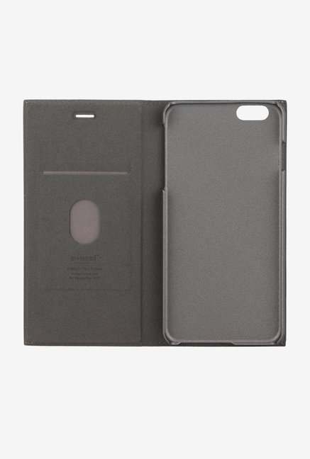 Memumi Simple Plus Flip Cover for iPhone 6s Plus (Grey)