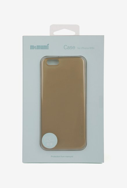 Memumi Ultra-Slim Back Cover for iPhone 6s (Golden)