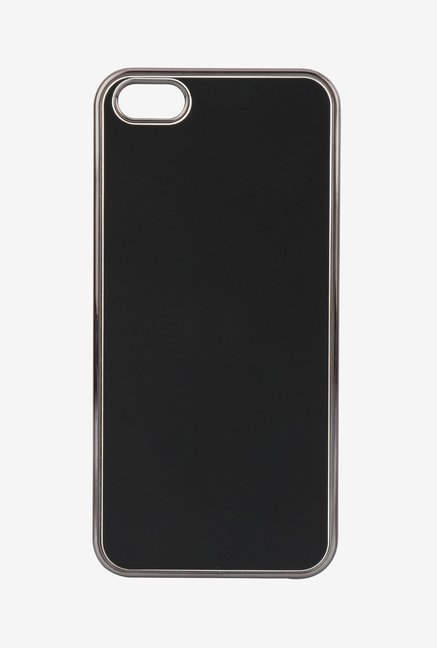 Memumi Classic Back Cover for iPhone 5 (Black)