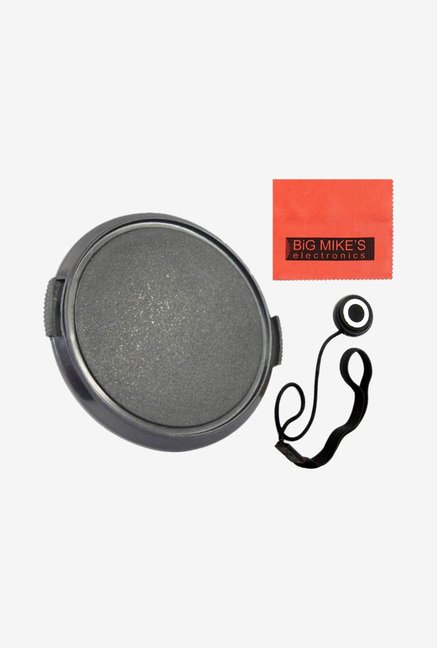 Big Mike's 37mm Universal Snap-on Lens Cap (Black)