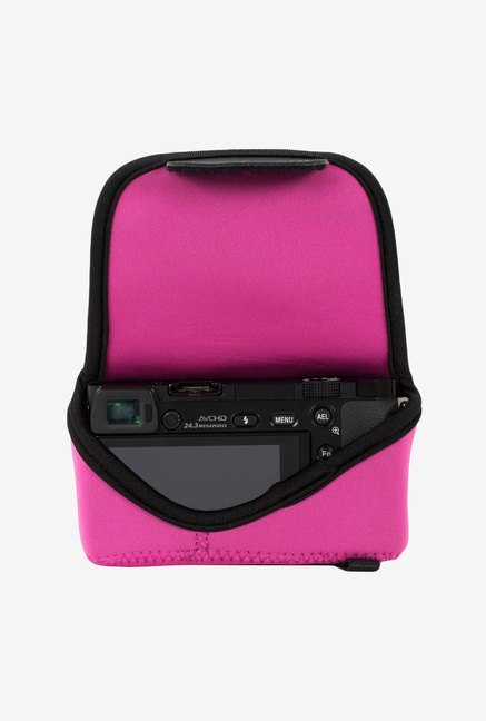 MegaGear Neoprene Camera Case for Sony NEX-5TL (Pink)
