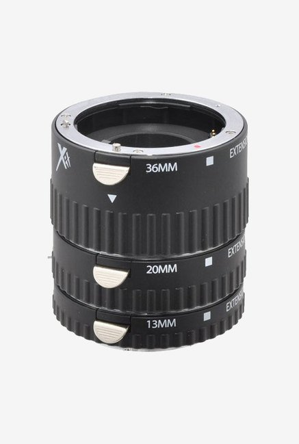 Xit Auto Focus Macro Extension Tube Set For Sony (Black)