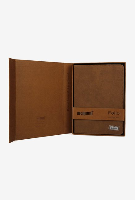 Memumi Business Flip Cover for iPad mini 1 (Brown)