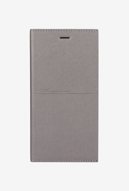Memumi Simple Plus Flip Cover for iPhone 6s (Grey)