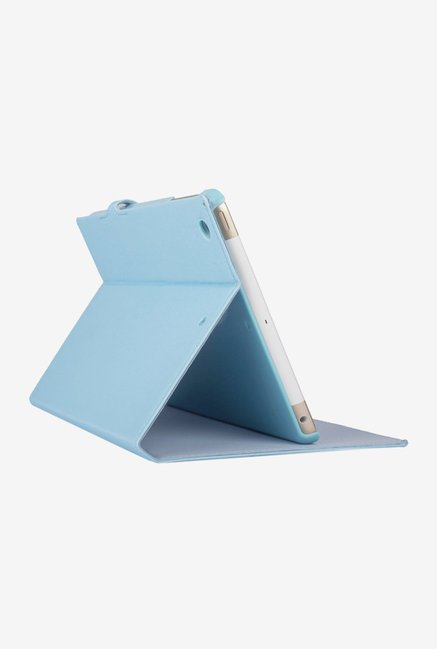 Memumi Grace Flip Cover for iPad mini 2 and 3 (Blue)