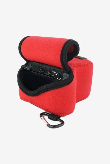 MegaGear Neoprene Camera Case for Sony NEX6, NEX7 (Red)
