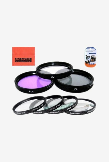 Big Mike's 52mm 7 Piece Filter Set (Black)
