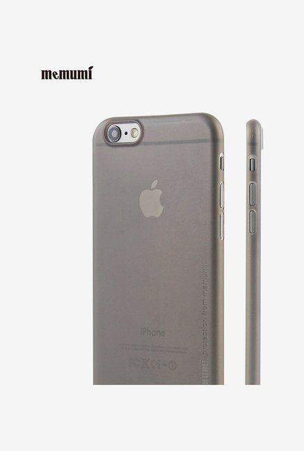 Memumi Ultra-Slim Back Cover for iPhone 6s (Black)