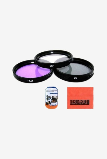Big Mike's 37mm 3 Piece Filter Kit (Uv-Cpl-Fld) For Olympus