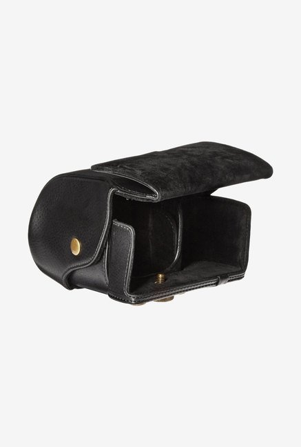 MegaGear Leather Camera Case for Sony NEX-7 (Black)