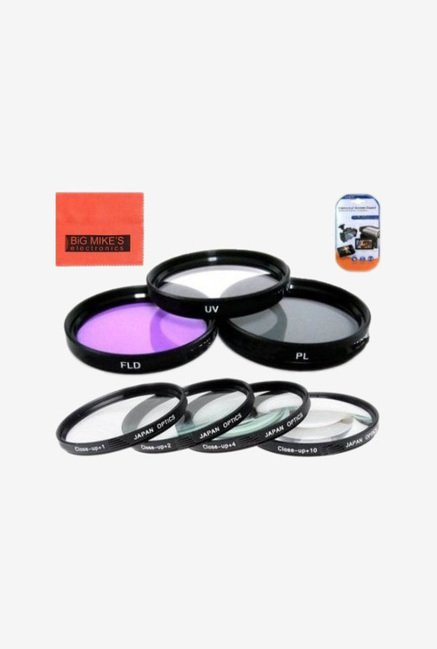 Big Mike's 52mm 3 Filter Kit (UV-CPL-FLD) for Pentax Camera