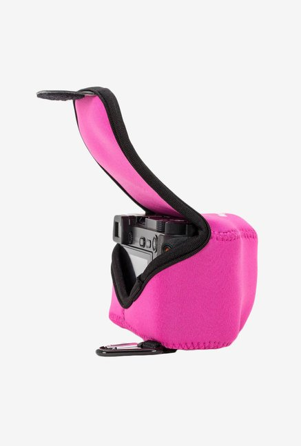 MegaGear Neoprene Camera Case for Nikon V3 with Lens (Pink)