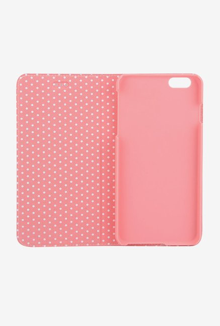 Memumi Sweet Flip Cover for iPhone 6 Plus (Pink)
