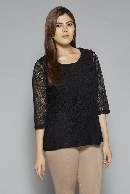 Gia by Westside Black Rianna Top
