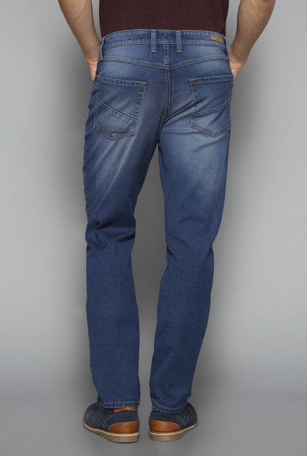 Ascot by Westside Blue Slim Fit Jeans