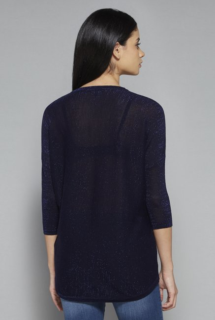 Nuon by Westside Navy Tyra Knit Top