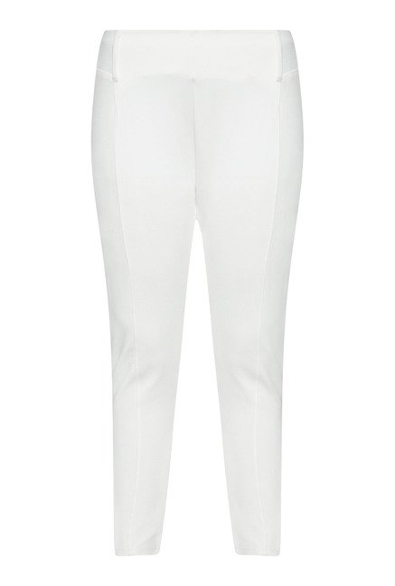 Gia by Westside White Ponte Pant