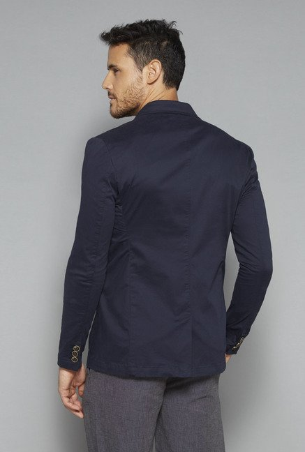 ETA by Westside Navy Slim Fit Blazer