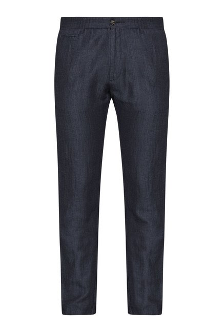 Ascot by Westside Grey Slim Fit Chinos