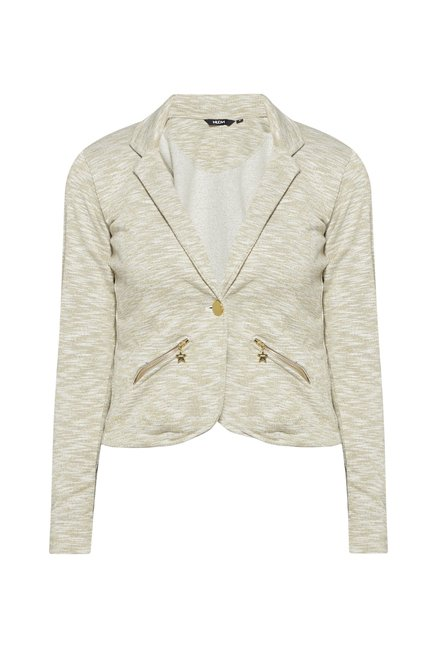 Nuon by Westside Beige Wandy Jacket