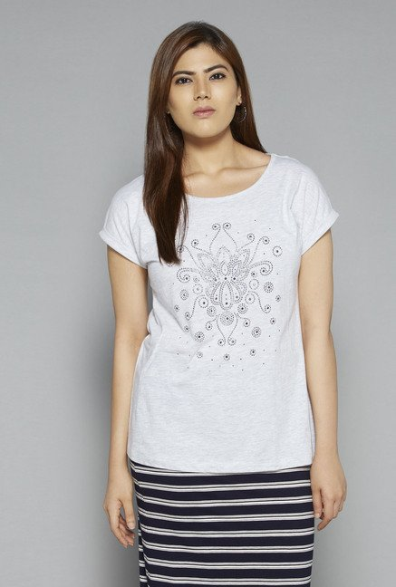 Gia by Westside Grey Bella T Shirt