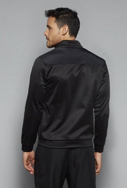 Westsport by Westside Black Slim Fit Jacket