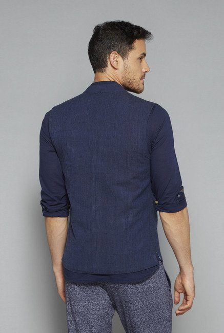 ETA by Westside Indigo Slim Fit Jacket