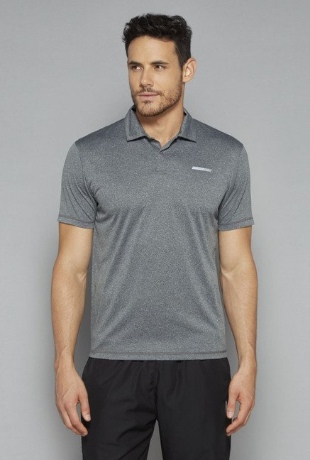 Westsport by Westside Grey Slim Fit T Shirt