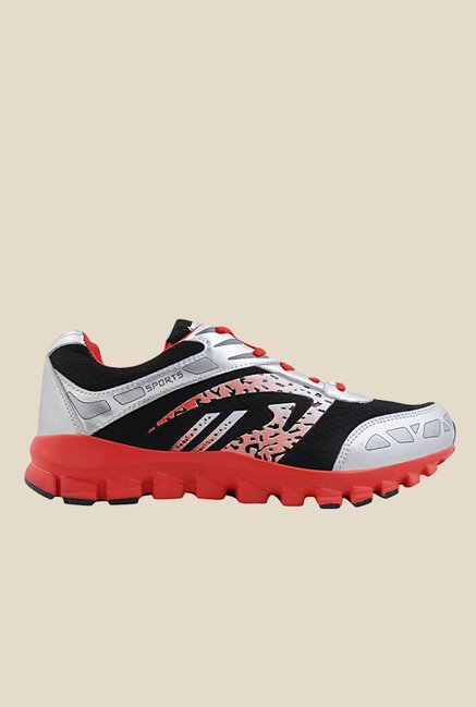 Yepme Premium White & Black Running Shoes
