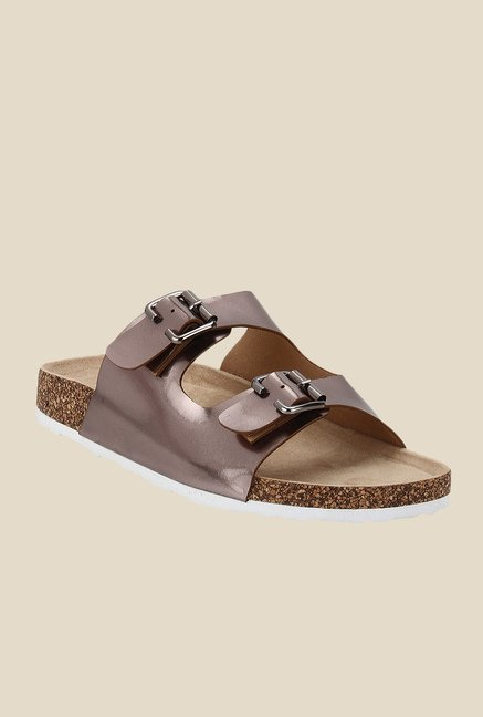 Yepme Bronze Casual Sandals