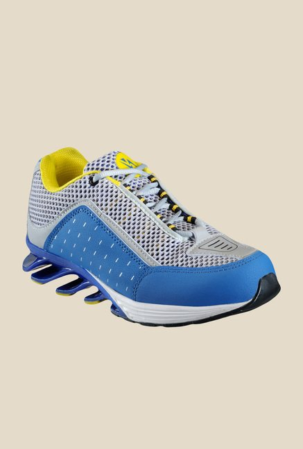 Yepme Blade Grey & Blue Running Shoes