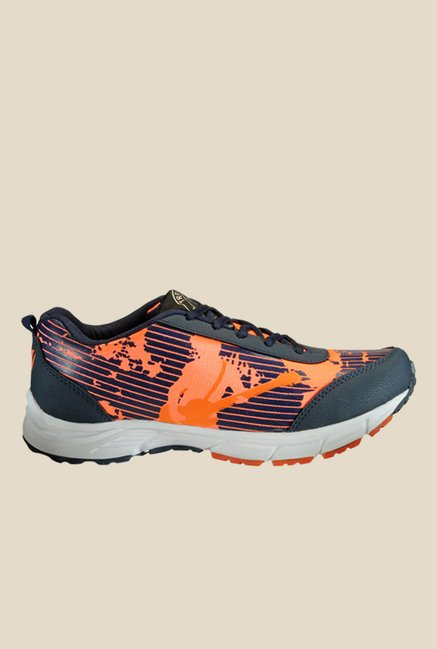 Yepme Premium Orange & Black Running Shoes