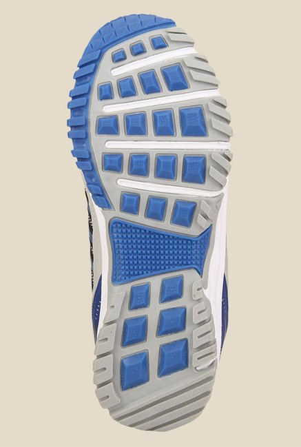 Yepme Premium Grey & Blue Running Shoes