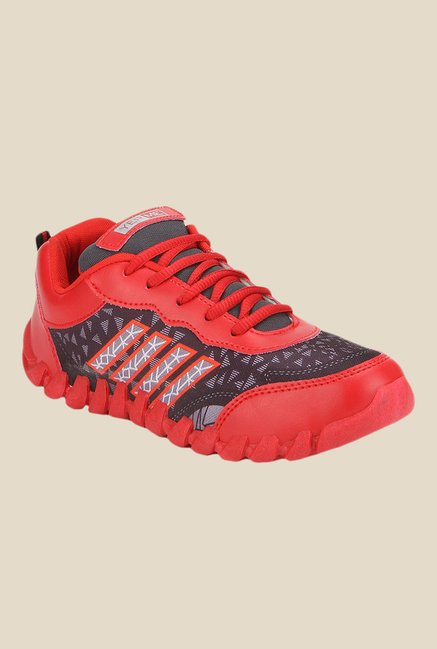 Yepme Red & Maroon Running Shoes