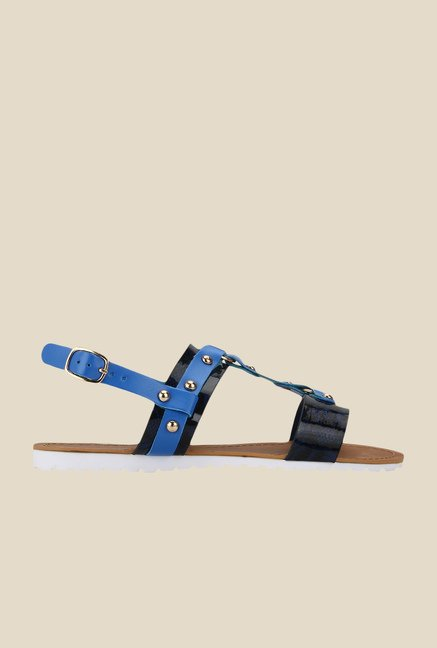 Yepme Navy Back Strap Sandals