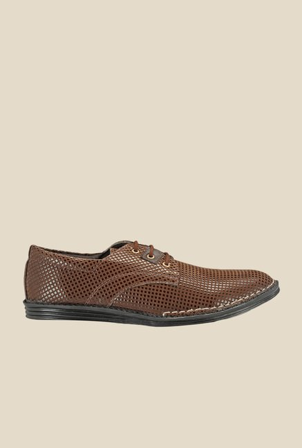 Yepme Coffee Derby Shoes