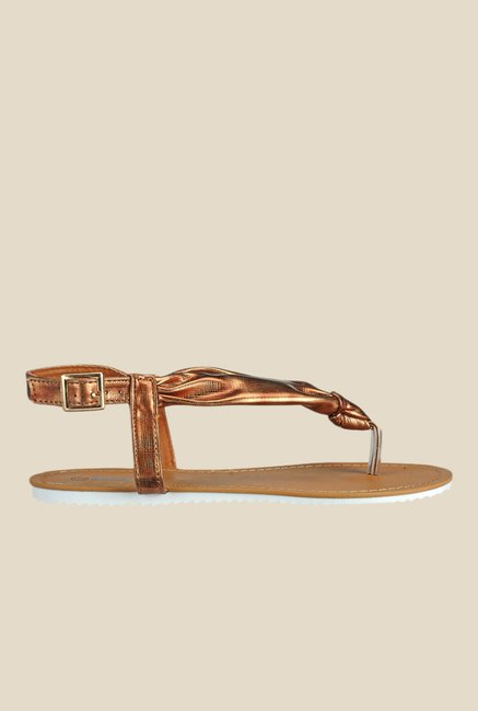 Yepme Coffee Brown Back Strap Sandals