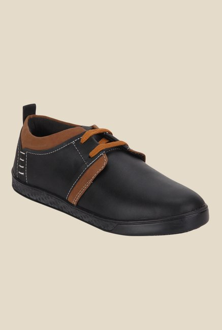 Yepme Black Derby Shoes