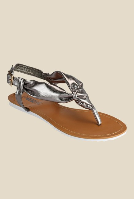 Yepme Grey Back Strap Sandals