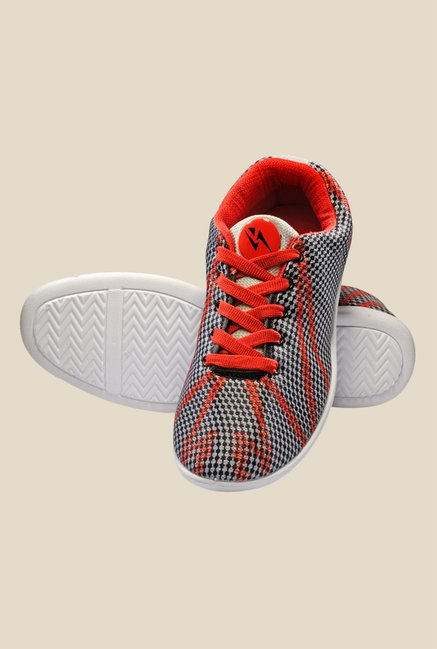 Yepme Blue & Red Sneakers
